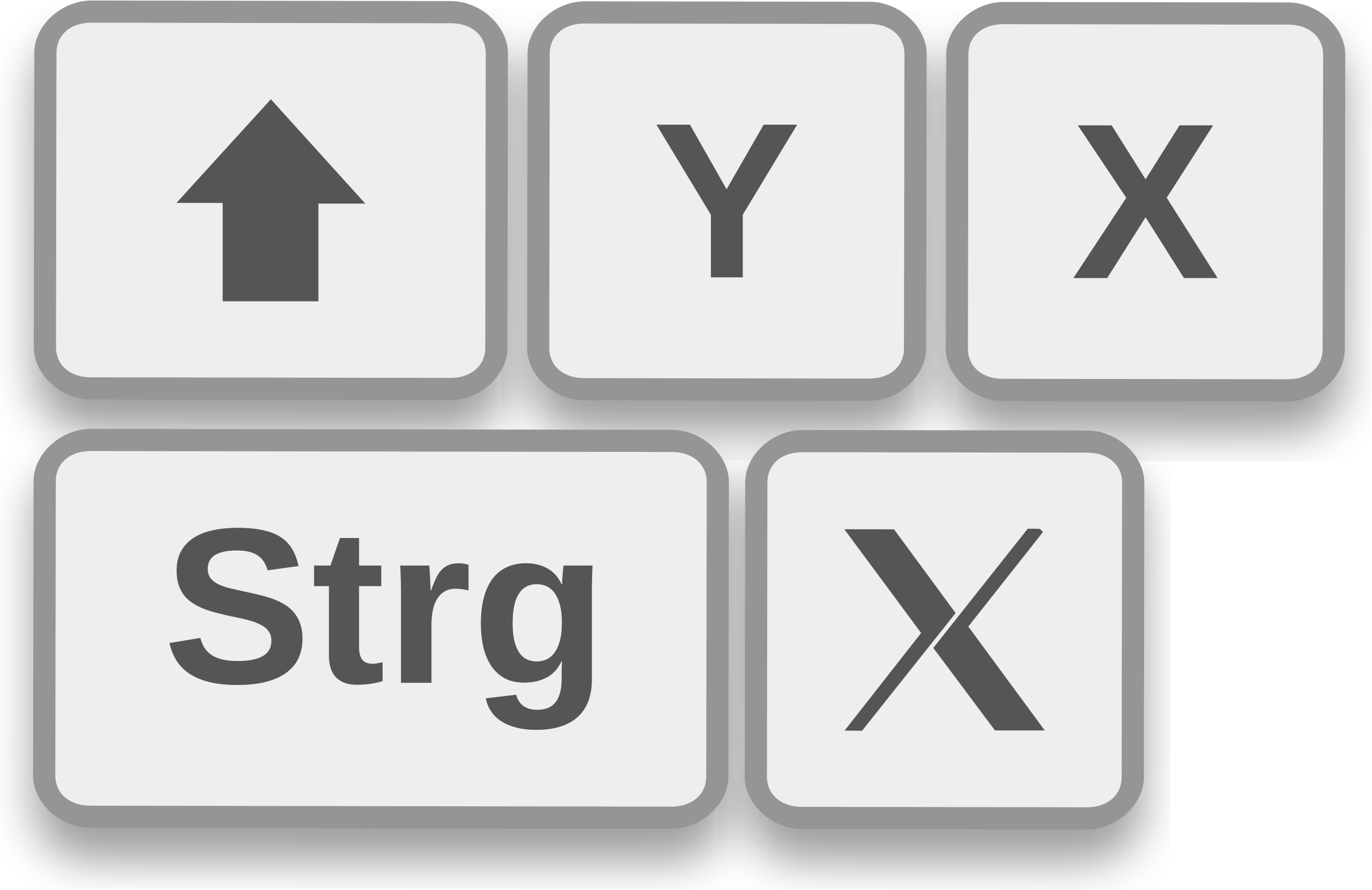 This Free Icons Png Design Of Keyboard Shortcuts.