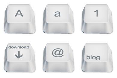 Keyboard Keys Iconset (102 icons).