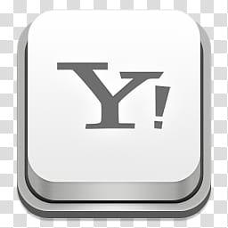 Apple Keyboard Icons, Yahoo, Yahoo logo transparent.