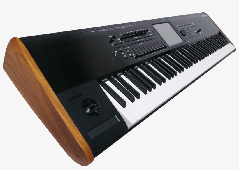 Korg Keyboard Synthesizer Transparent Png Image.