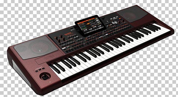 Korg Musical Keyboard Music Workstation Electronic Keyboard PNG.