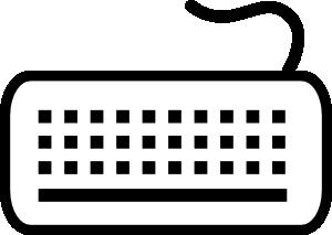 Keyboard Clip Art at Clker.com.