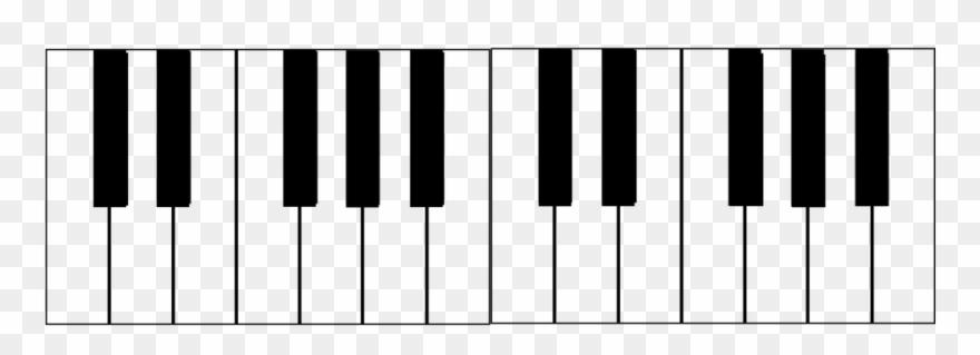 Piano Keyboard Svg Clipart (#3227927).