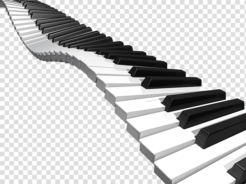 Piano Musical keyboard , piano transparent background PNG clipart.
