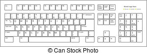 Keyboard Vector Clip Art Royalty Free. 25,355 Keyboard clipart.