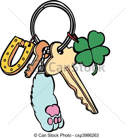 Keychain Illustrations and Clip Art. 958 Keychain royalty free.