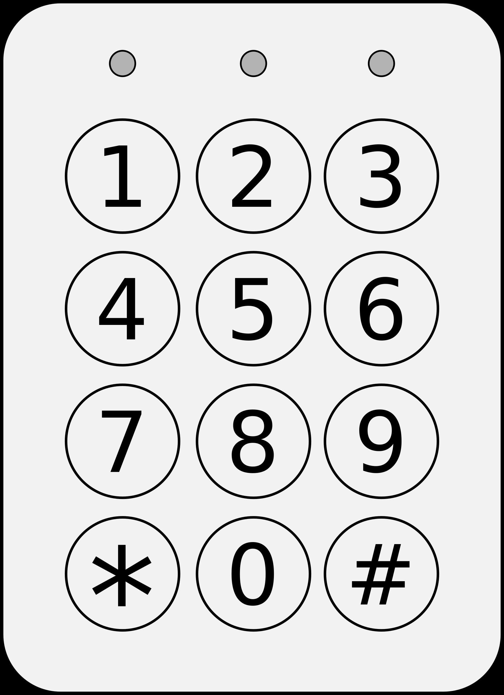 Keypad Clipart.