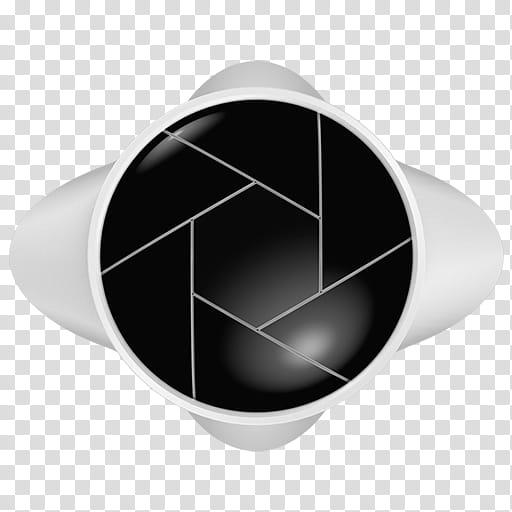 Keyshot logo review icons, black and white logo transparent.