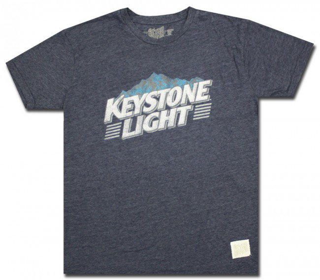 Keystone Light Retro Comfort T Shirt.
