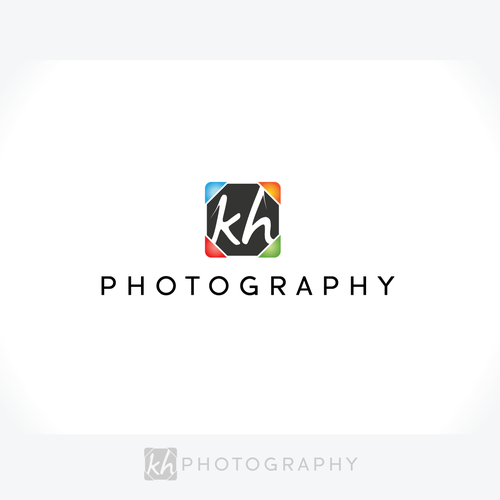 logo for KH Photography.