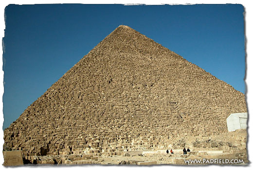 Khafre Pyramid at Giza (by the Sphinx).
