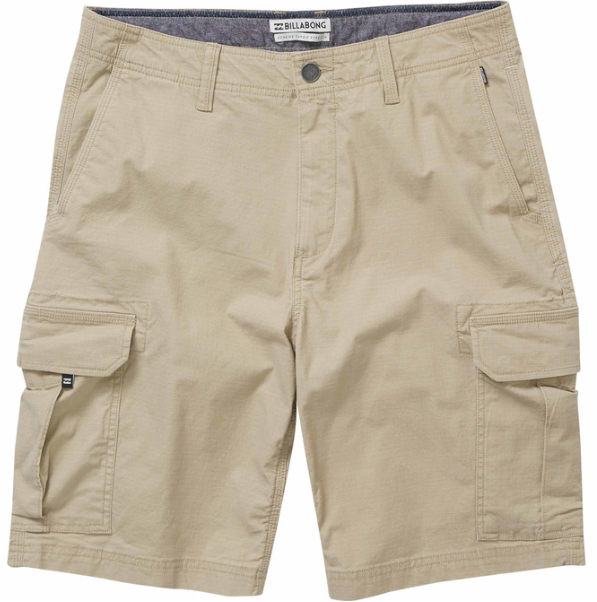 Billabong Scheme Cargo Short Light Khaki.