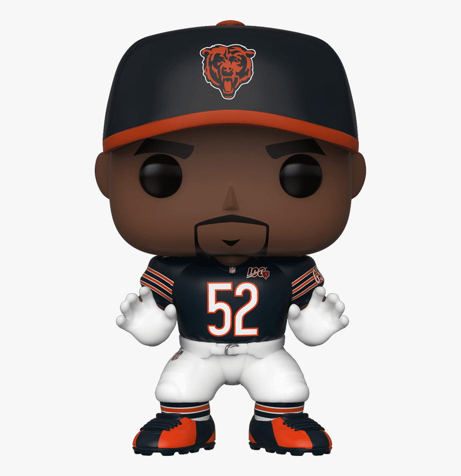 Funko Pop Khalil Mack , Transparent Cartoon, Free Cliparts.