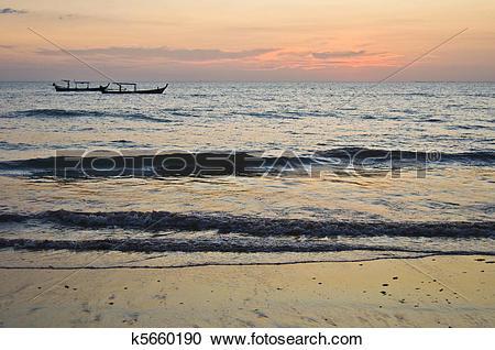 Stock Photography of Sunset in Khao Lak k5660190.