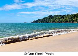 Stock Photographs of Marine landscape. Khao Lak Beach. Thailand.