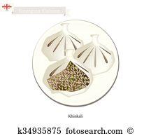 Khinkali Clipart EPS Images. 56 khinkali clip art vector.