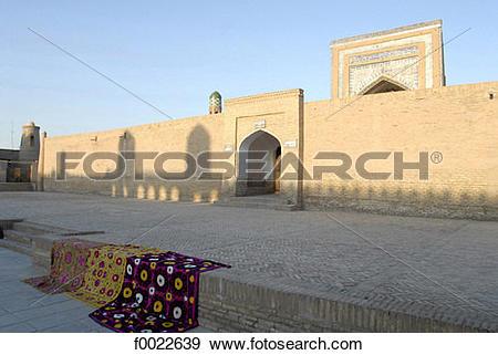 Stock Photograph of Uzbekistan, Khiva, Mouhammed Rakhim Khan.