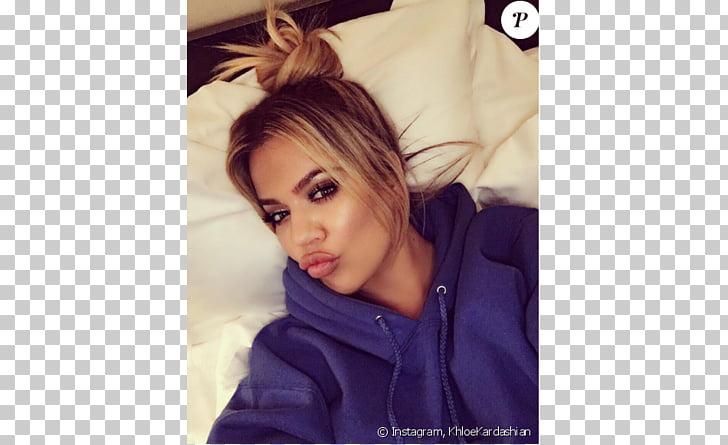 Khloé Kardashian Keeping Up with the Kardashians Hairstyle.