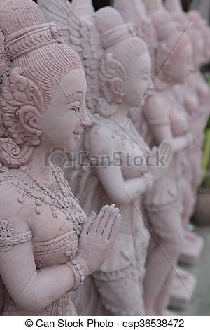 Picture of ASIA THAILAND ISAN KHORAT SKULPTURE FACTORY.