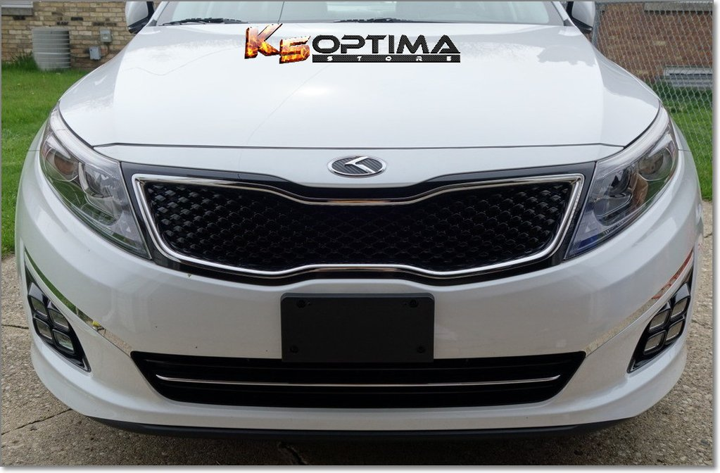 Kia 3.0 K Logo Emblem Sets \