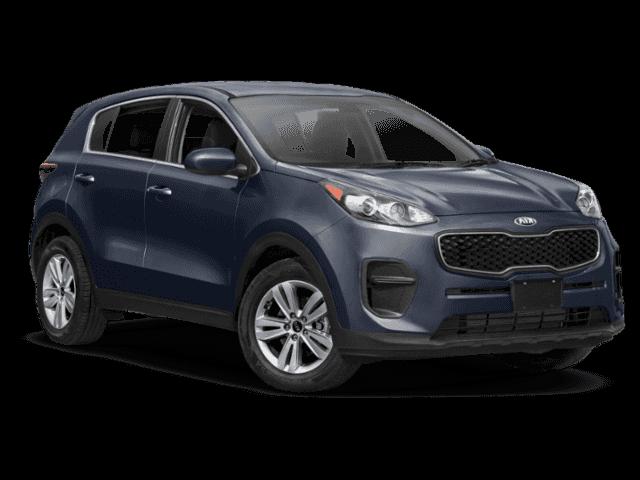 New 2019 Kia Sportage LX AWD.