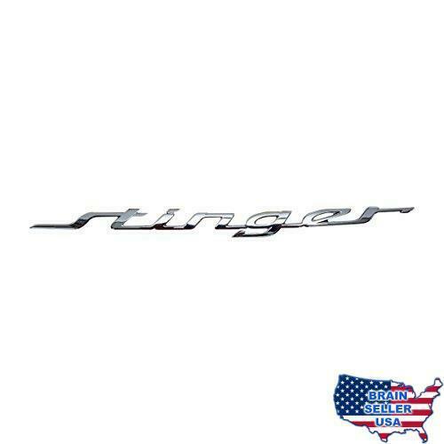 Rear Trunk Lid Nameplate Emblem Mark Logo Kia Stinger 2018.