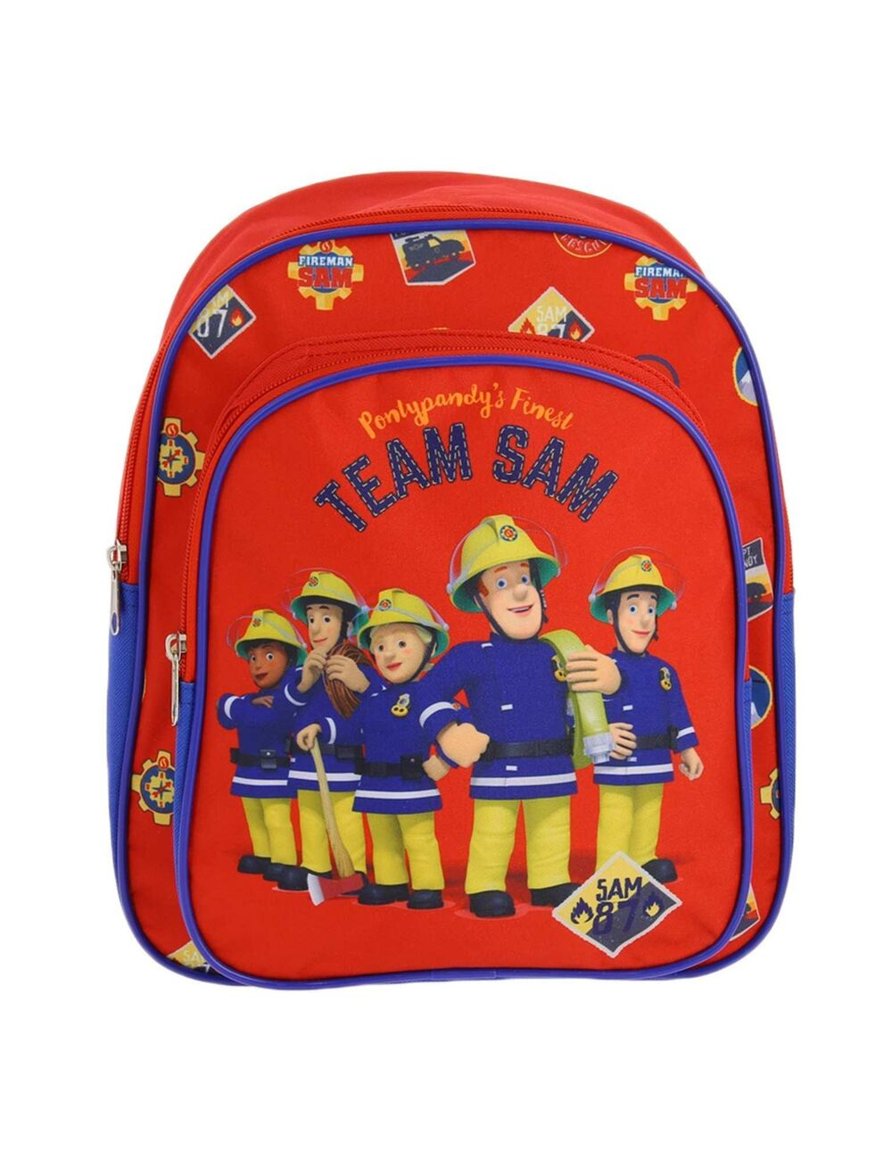 Fireman Sam backpack.