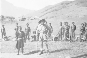 Historical records of Australian patrol officers in Papua New Guinea.
