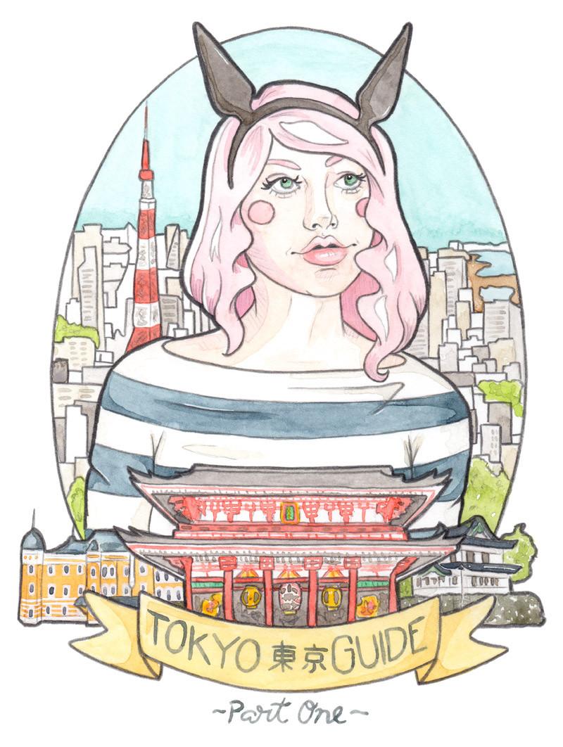 Tokyo Travel Guide Part 1 // Studio Ghibli, Kichijoji & Tokyo.