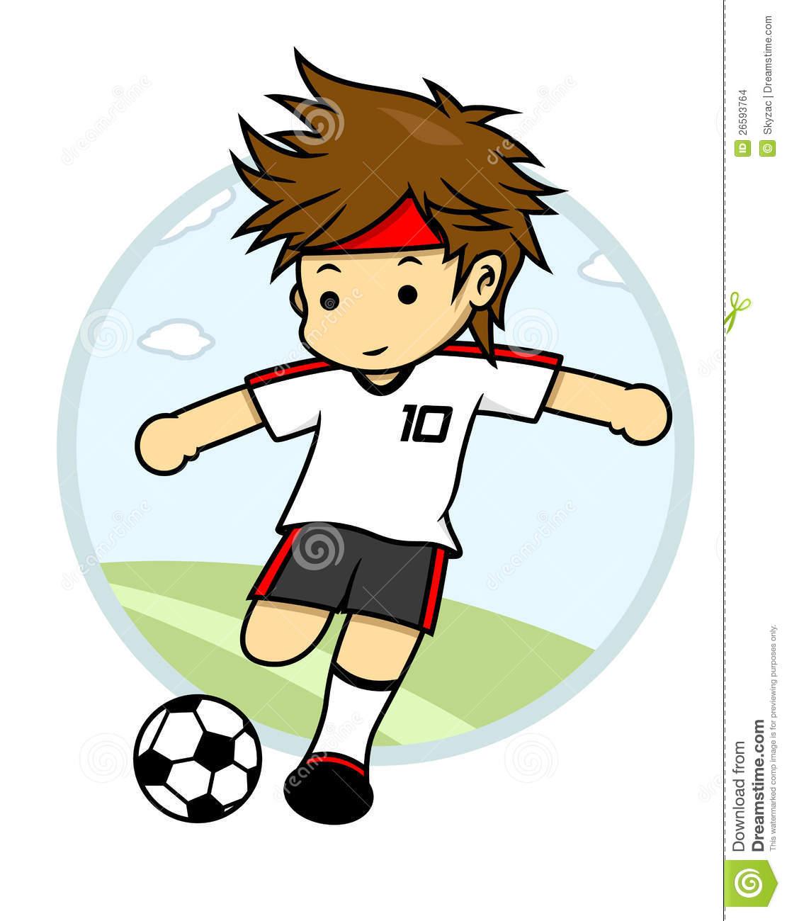 Kick ball clipart #7