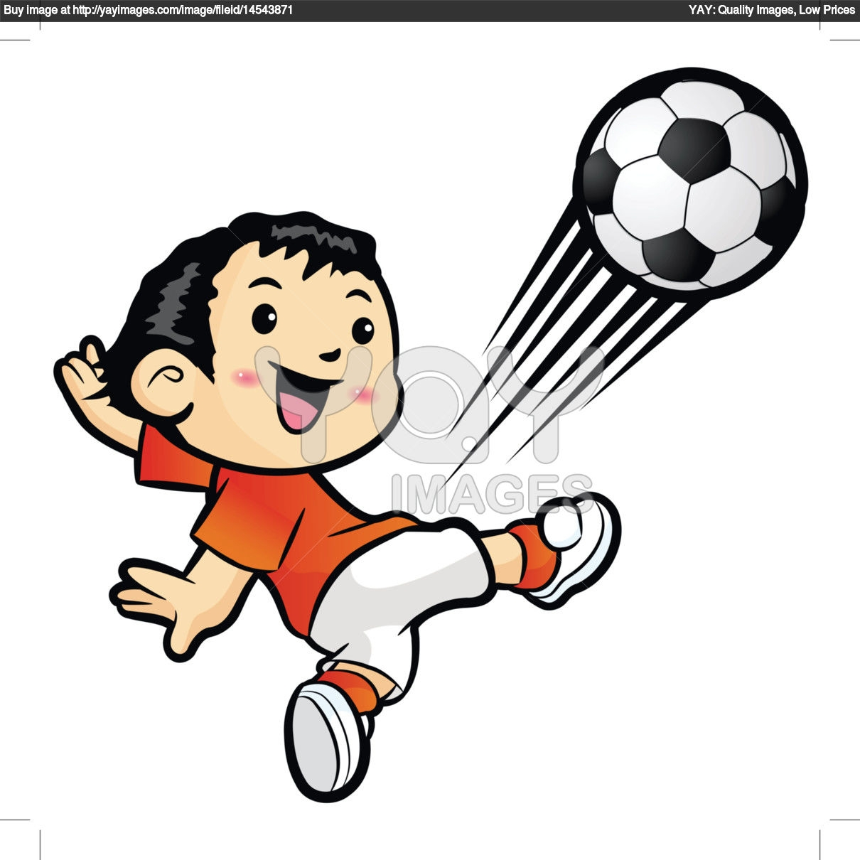 Kicking Foot Clipart.