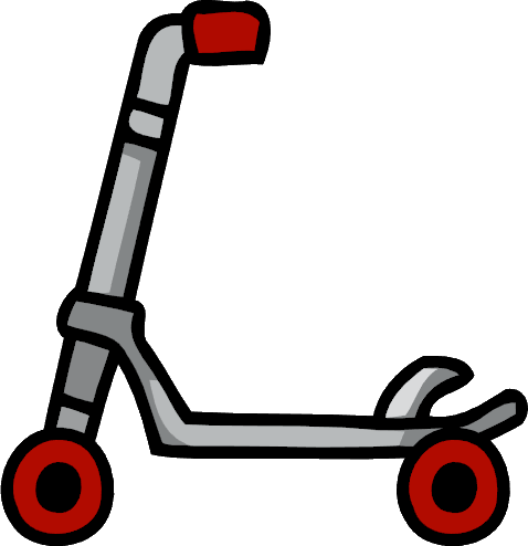 Kick Scooter PNG Clipart.