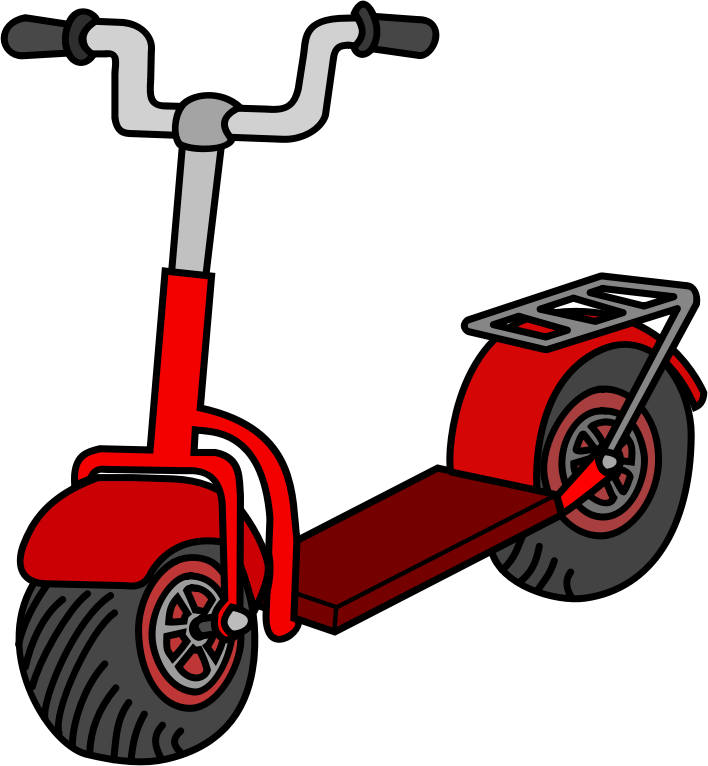 Free to Use & Public Domain Scooter Clip Art.