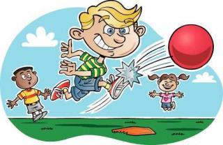 Annual Kickball Game!! WV School VS. WV Town.