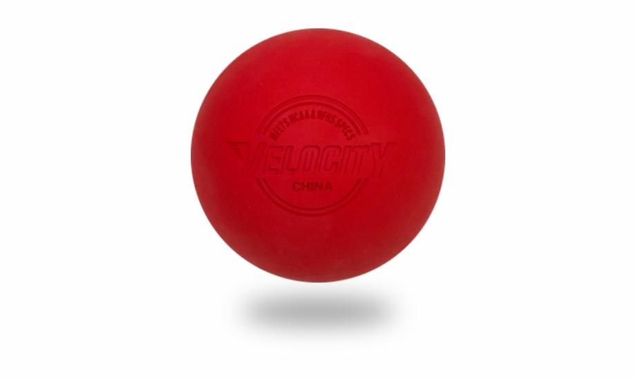 Red Lacrosse Balls.