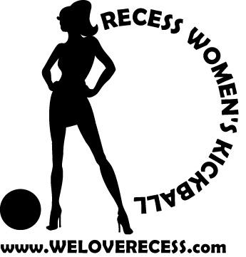 Recess Coed Sports League 'Women's Kickball League'.