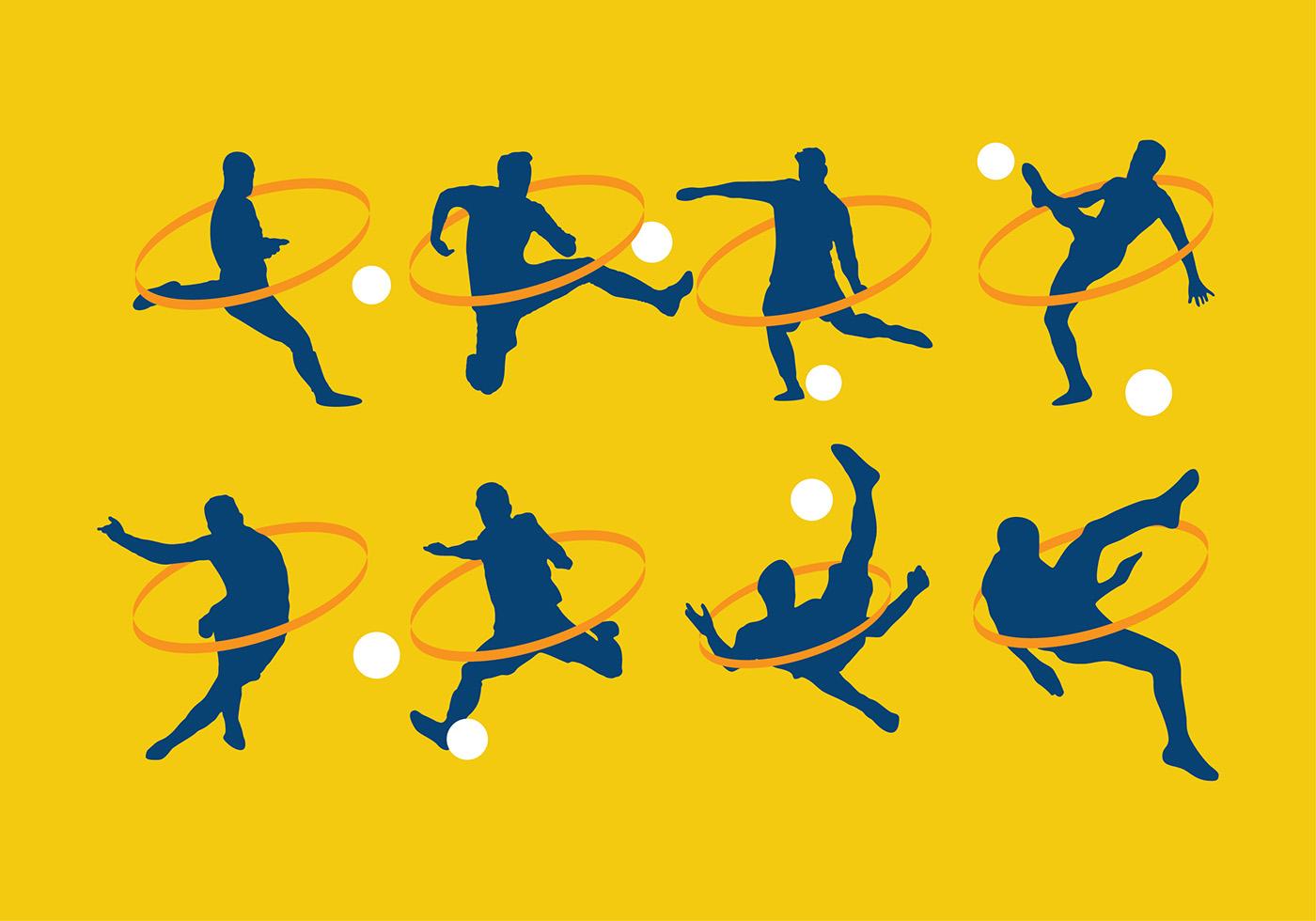 Kickball Free Vector Art.