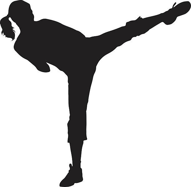 Kickboxing Clip Art, Vector Images & Illustrations.