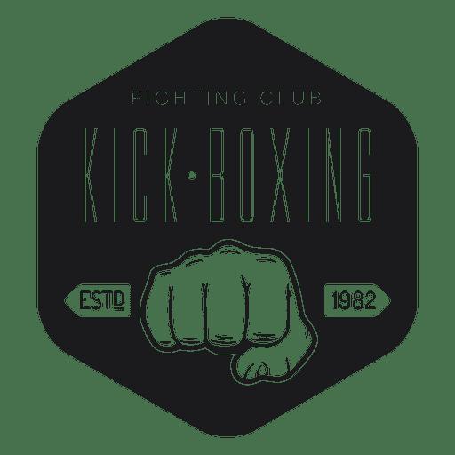Kickboxing club logo.