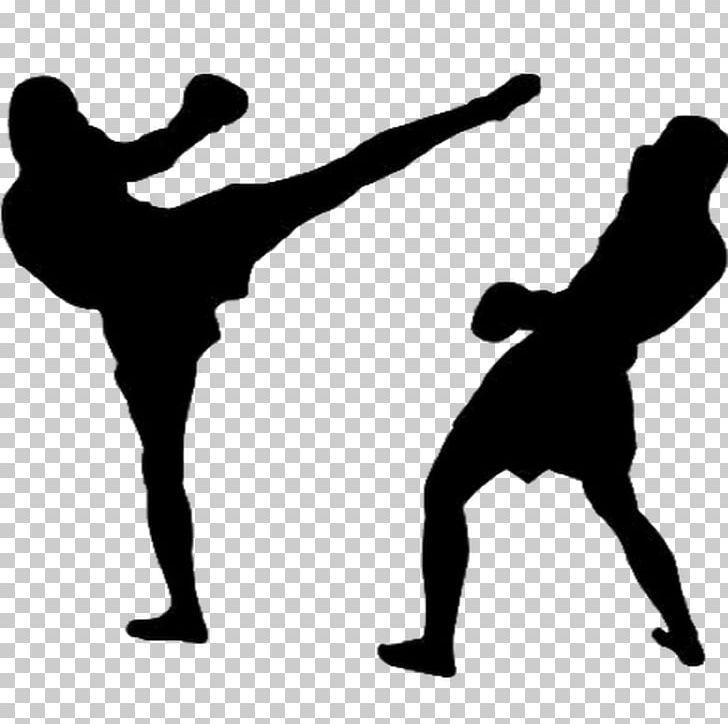Kickboxing Muay Thai Karate PNG, Clipart, Aerobic Kickboxing, Black.