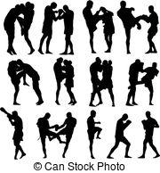 Kickboxing Stock Illustrations. 2,829 Kickboxing clip art.