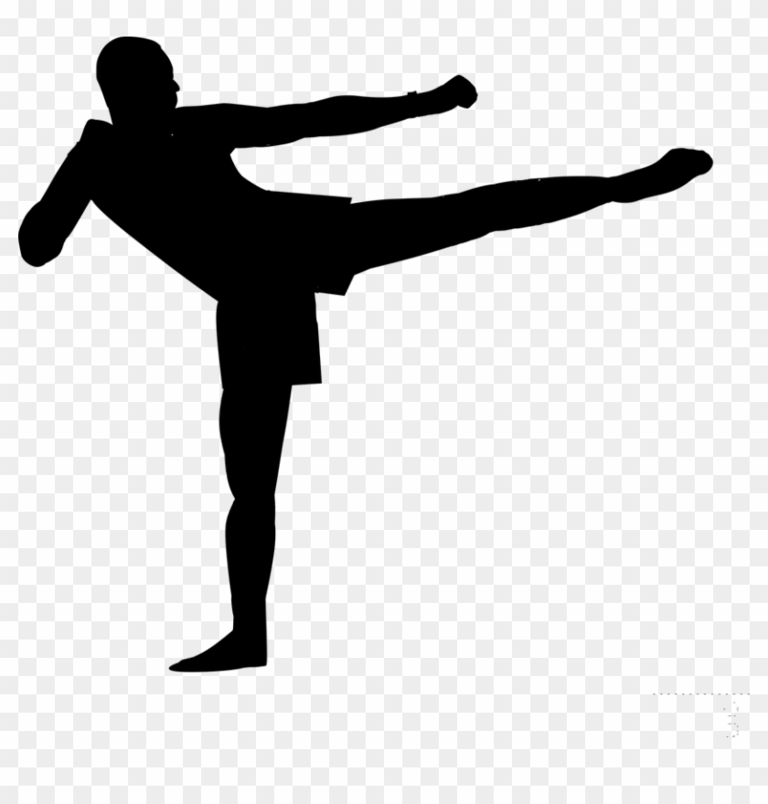 Silhouette Boxing Kickboxing Boxers Sports.