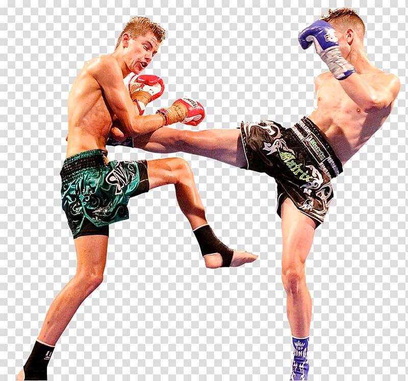 Muay Thai Combat sport Kickboxing Strike, Boxing transparent.