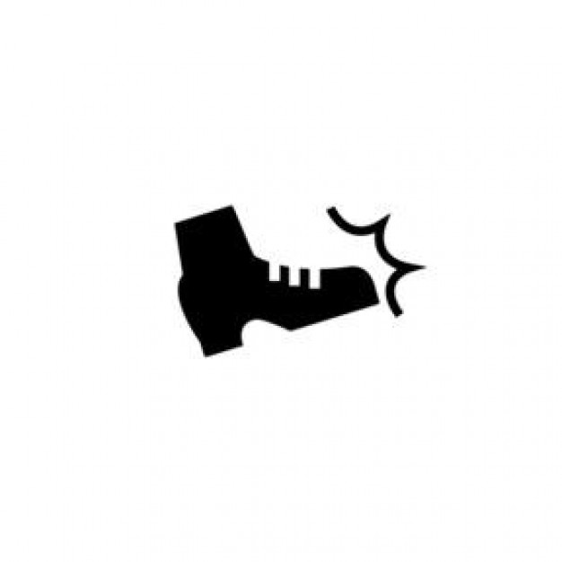 Download Free png Boot kick clipart: Kick Boot.