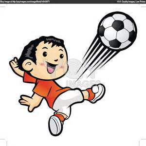 Kickoff Clipart Image Kicker Kicking A Football During A.