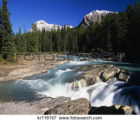 Picture of british columbia canada yoho national park kicking.