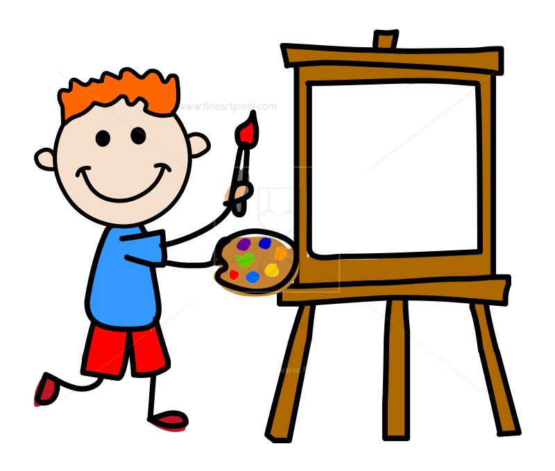 Artist kid.