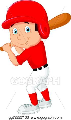Kid baseball player clipart 6 » Clipart Station.