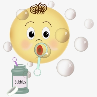 Bubbles Blowing , Transparent Cartoon, Free Cliparts.