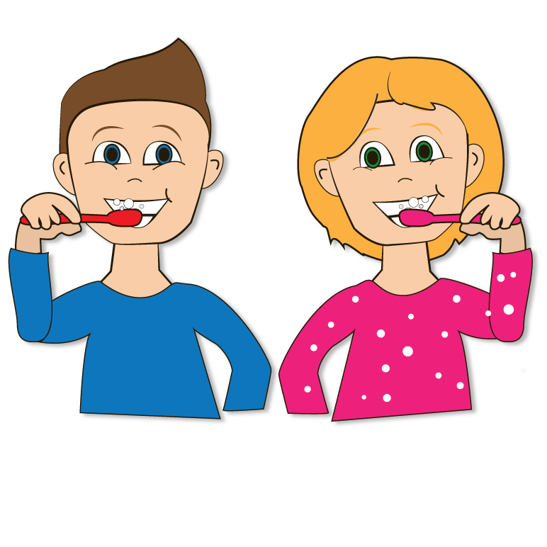 Kid brushing teeth clipart 3 » Clipart Station.